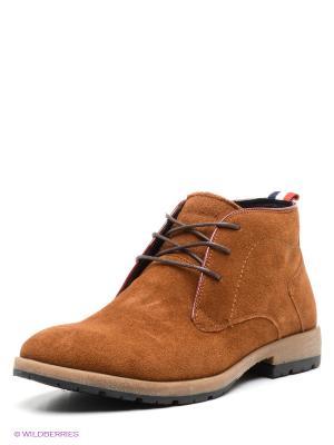 Туфли Crosby. Цвет: коричневый