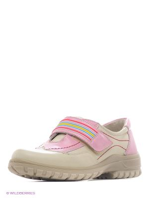 Ботинки San Marko. Цвет: молочный