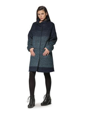 Пальто HELMIDGE. Цвет: зеленый, синий