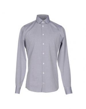 Pубашка RICHARD JAMES. Цвет: серый
