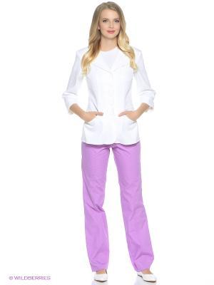 Брюки медицинские Med Fashion Lab. Цвет: сиреневый