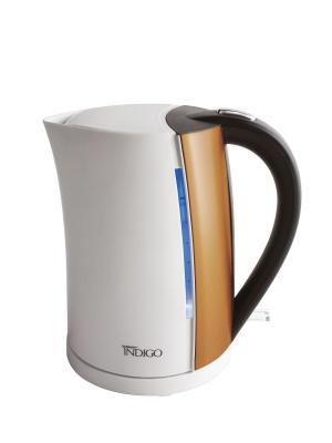 Чайник Scarlett IS-EK20P01 1.7л. 2200Вт белый/бронзовый (пластик). Цвет: белый