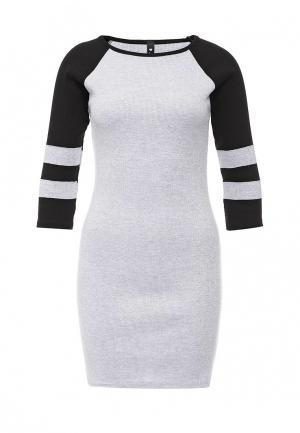 Платье Influence. Цвет: серый
