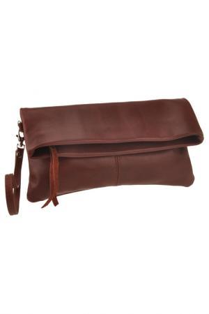 Клатч FLORENCE BAGS. Цвет: dark red