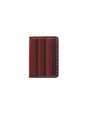 Обложка для паспорта Кажан. Цвет: красный