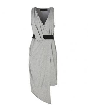 Короткое платье BLESS'ED ARE THE MEEK. Цвет: серый