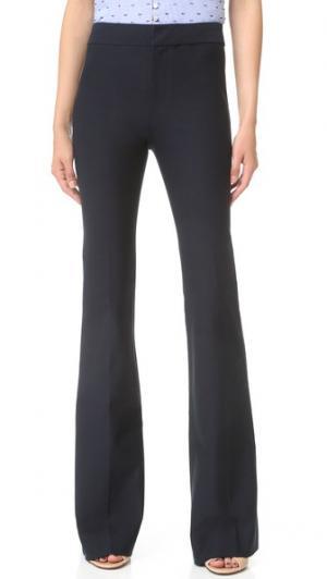 Расклешенные брюки Derek Lam 10 Crosby. Цвет: полночный