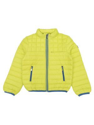 Куртка Aston Martin. Цвет: желтый