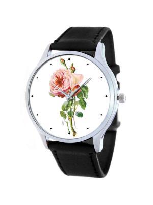 Дизайнерские часы Роза Tina Bolotina. Цвет: черный, зеленый, розовый
