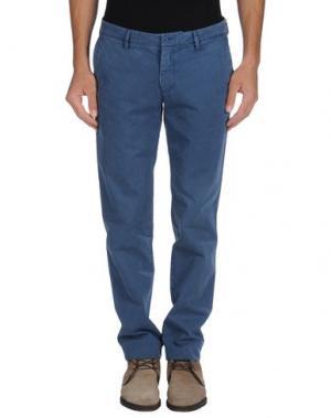 Повседневные брюки GOLD CASE by ROCCO FRAIOLI. Цвет: пастельно-синий