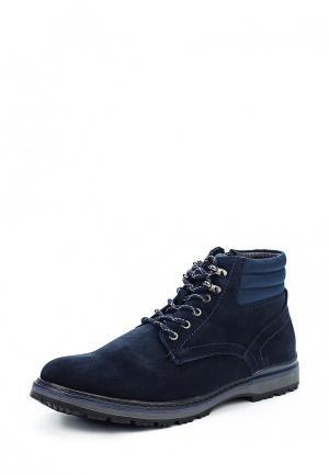 Ботинки Quattrocomforto. Цвет: синий