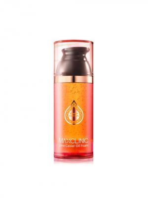 Пенка MAXCLINIC LIME CAVIAR OIL FOAM. Цвет: оранжевый