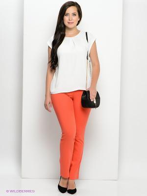 Брюки Femme. Цвет: оранжевый