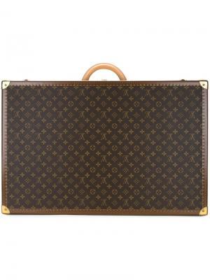 Монограммный чемодан Alzer 70 Louis Vuitton Vintage. Цвет: коричневый