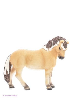 Фиордская лошадь, кобыла SCHLEICH. Цвет: кремовый