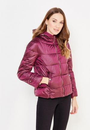 Куртка утепленная Cortefiel. Цвет: фиолетовый