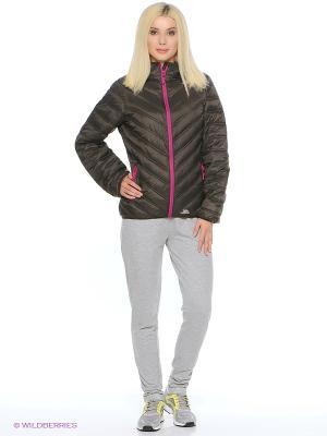 Куртка Trespass. Цвет: серый, фиолетовый