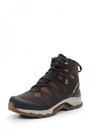 Ботинки Salomon. Цвет: коричневый