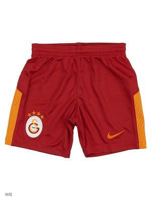 Шорты GS Y NK BRT STAD SHORT HA Nike. Цвет: красный, оранжевый