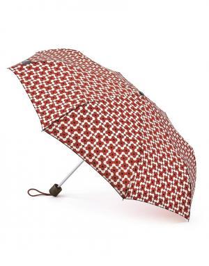 Зонт механический Цветок  by Fulton Orla Kiely. Цвет: черный