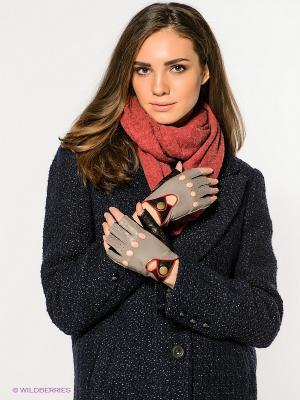 Перчатки Dali Exclusive. Цвет: черный, серый