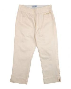 Повседневные брюки MIMISOL. Цвет: слоновая кость