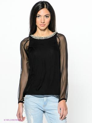 Блузка PINKO. Цвет: черный