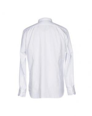Pубашка BEVILACQUA. Цвет: белый