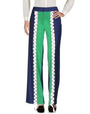 Повседневные брюки BOBBY KOLADE. Цвет: темно-синий