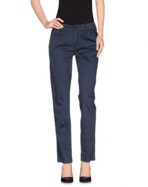Повседневные брюки ROMANO RIDOLFI. Цвет: синий