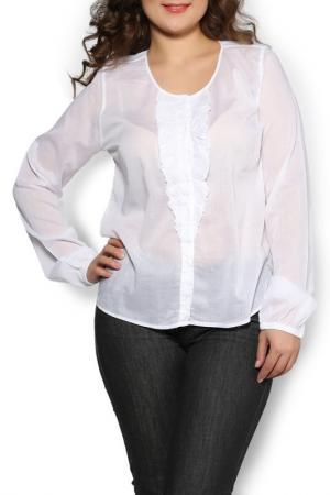 Блуза Deha. Цвет: белый