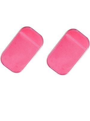 Липкий коврик силиконовый комплект 2 штуки WIIIX. Цвет: красный