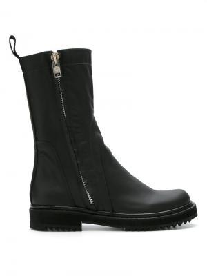 Leather boots Uma | Raquel Davidowicz. Цвет: чёрный