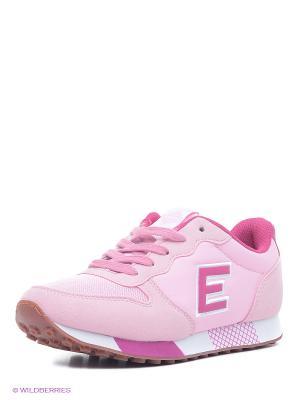 Кроссовки EDITEX. Цвет: бледно-розовый