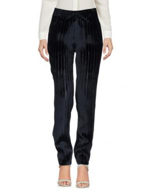 Повседневные брюки MIRA MIKATI. Цвет: темно-синий