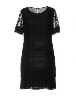 Короткое платье EDWARD ACHOUR. Цвет: черный