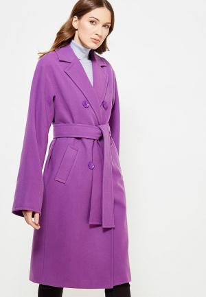Пальто Nevis. Цвет: фиолетовый