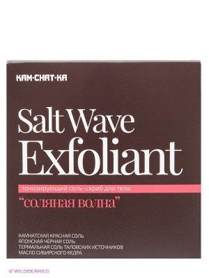 Соль-скраб соляная волна 400мл Natura Siberica. Цвет: коричневый