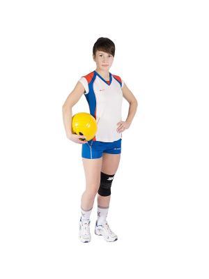 Женская волейбольная футболка Energy 2K. Цвет: белый, синий