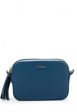 Сумка Furla. Цвет: синий