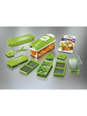 Овощерезка Moulinex K1030124. Цвет: салатовый, серый