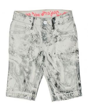 Джинсовые брюки CUSTO GROWING. Цвет: светло-серый
