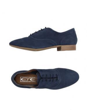 Обувь на шнурках EYE. Цвет: темно-синий