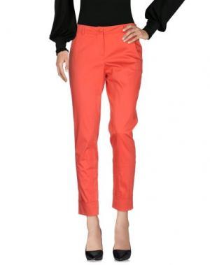 Повседневные брюки TRIXI SCHOBER. Цвет: коралловый