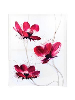 КАРТИНА НА ХОЛСТЕ VELD-CO. Цвет: розовый
