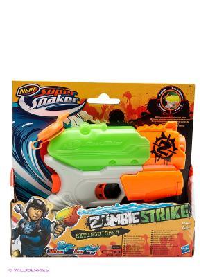 Супер Сокер Зомби Страйк Огнетушитель NERF. Цвет: синий, зеленый, красный, оранжевый