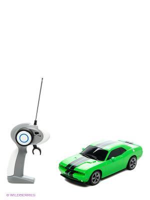 Машина Р/у 1:16  Dodge Challenger SRT8 AULDEY. Цвет: зеленый