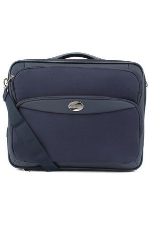 Компьютерная сумка Samsonite. Цвет: синий