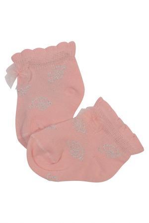 Носки Miss Blumarine. Цвет: розовый