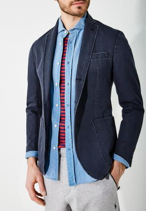 Пиджак Polo Ralph Lauren. Цвет: синий